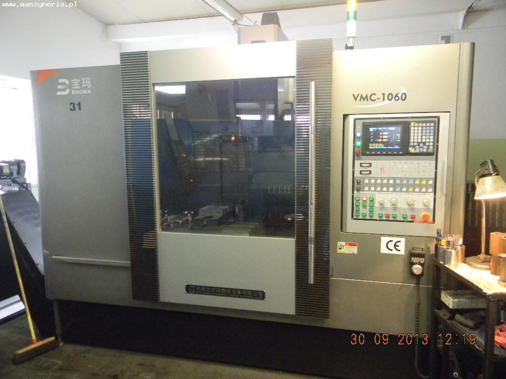 Centrum frezerskie BAOMA VMC-1060