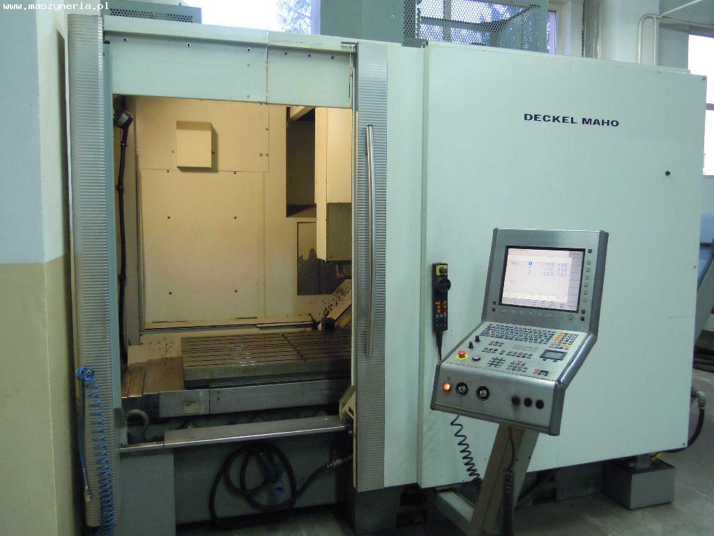 Frezarka CNC DECKEL MAHO DMC 100V HI-DYN