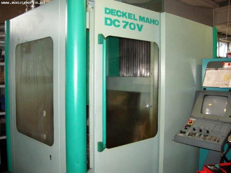 Centrum obróbcze CNC DECKEL MAHO DC 70V