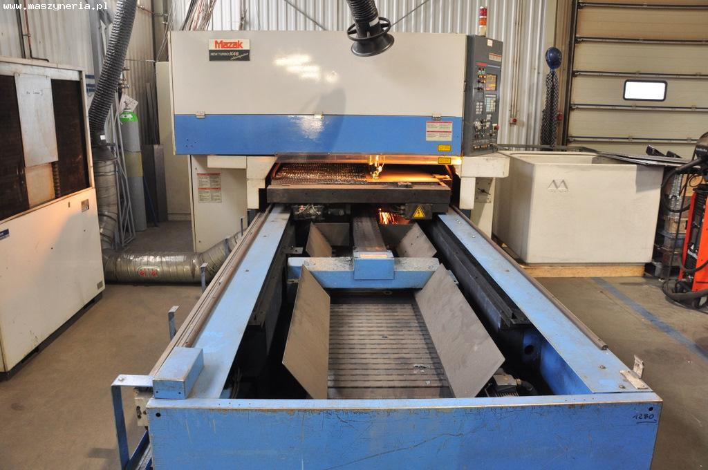 Laser MAZAK NEW TURBO X48