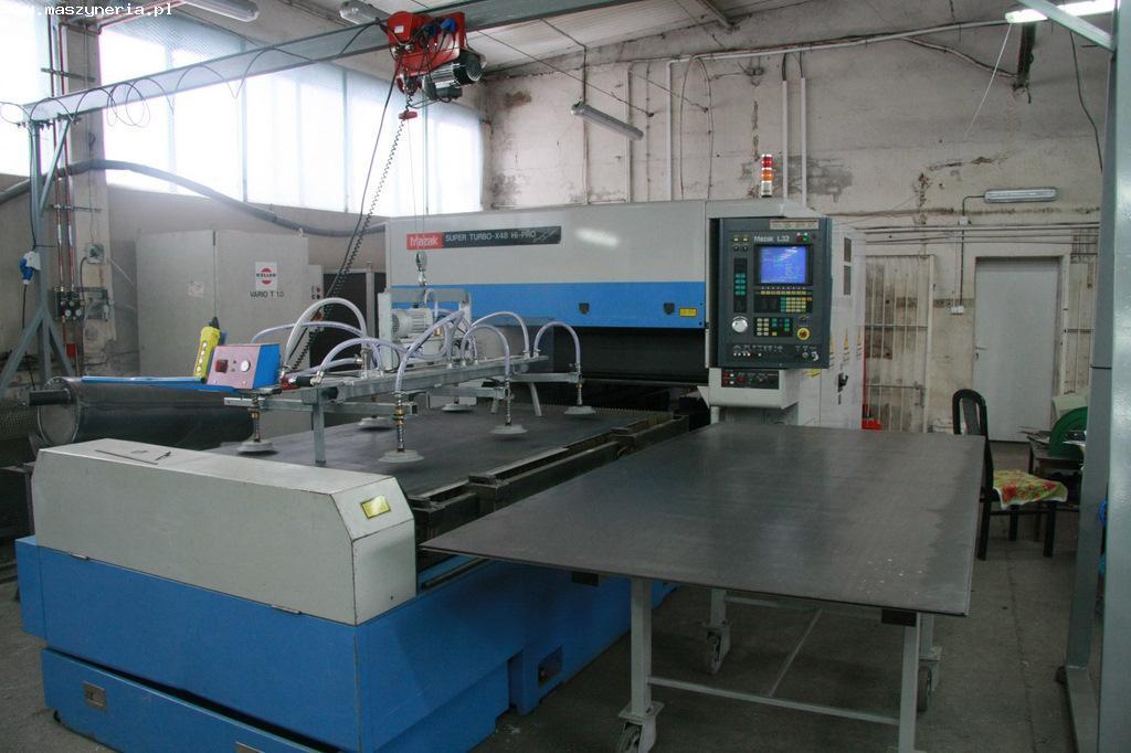 Laser MAZAK SUPER TURBO X48 HI-PRO