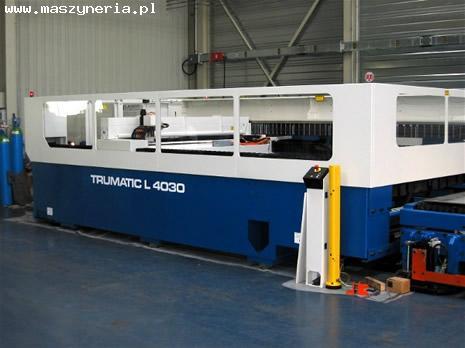 Wycinarka laserowa TRUMPF TRUMATIC L4030