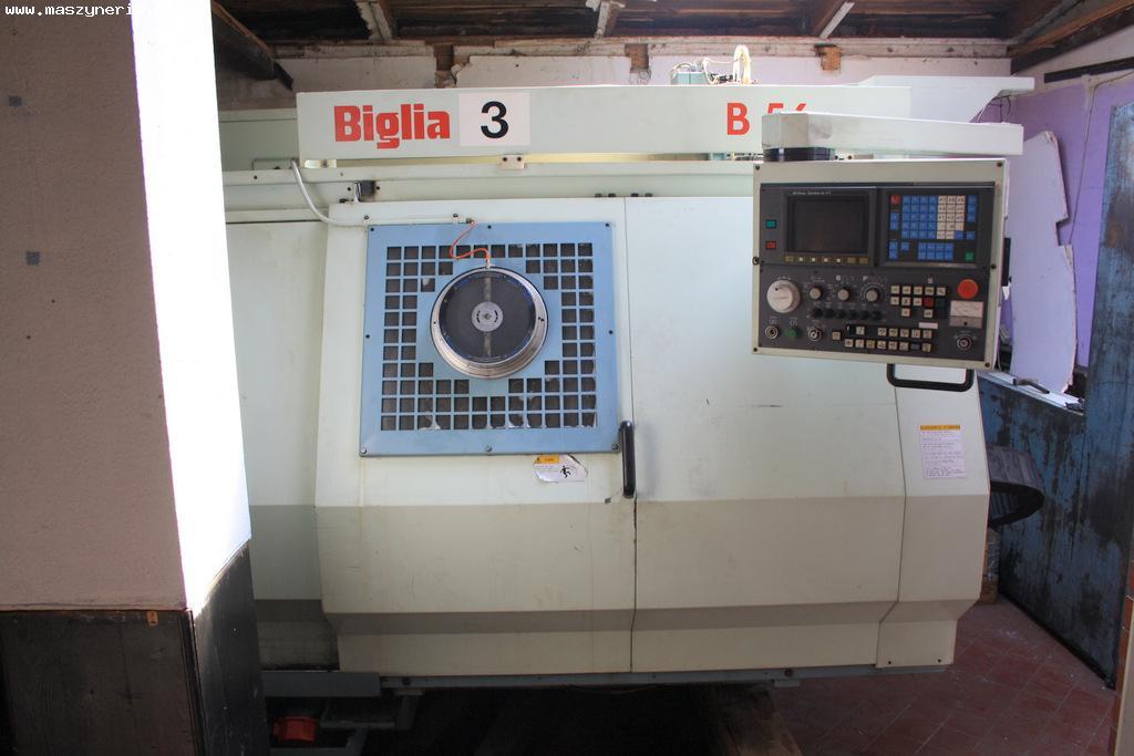 Centrum tokarskie CNC BIGLIA B56 QUATTRO