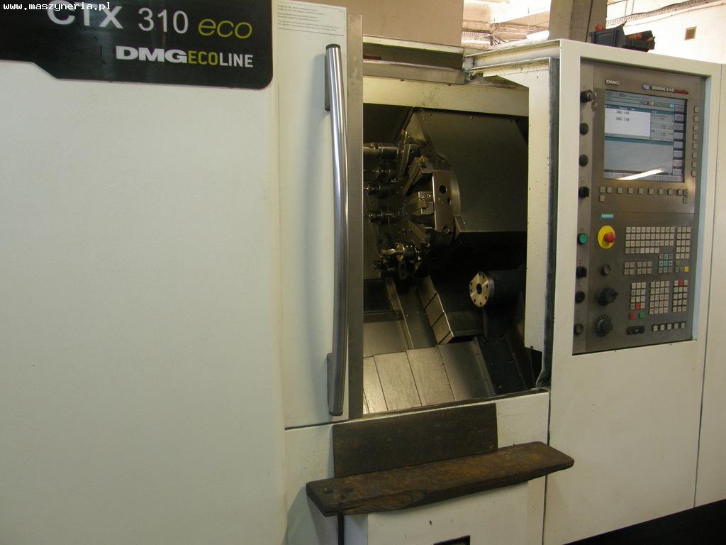 Tokarka CNC DMG CTX 310 ECO