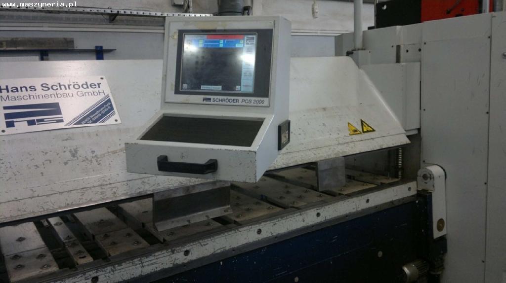Zaginarka do blachy CNC SCHROEDER SPB 3200/3